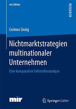 Sinzig, Corinna - Nichtmarktstrategien multinationaler Unternehmen, ebook