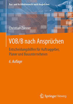 Zanner, Christian - VOB/B nach Ansprüchen, ebook
