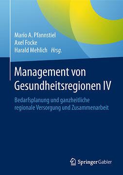 Focke, Axel - Management von Gesundheitsregionen IV, ebook