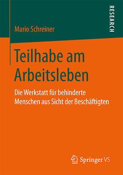 Schreiner, Mario - Teilhabe am Arbeitsleben, ebook
