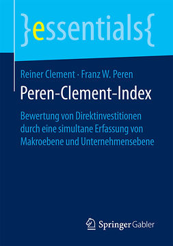 Clement, Reiner - Peren-Clement-Index, ebook