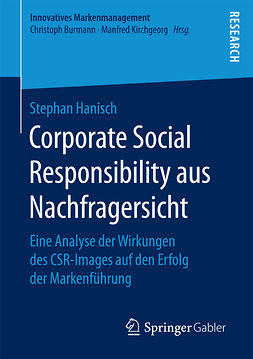 Hanisch, Stephan - Corporate Social Responsibility aus Nachfragersicht, e-bok