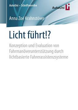 Krahnstöver, Anna Zoé - Licht führt!?, ebook