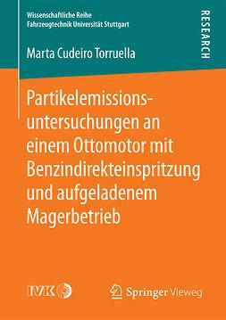 Torruella, Marta  Cudeiro - Partikelemissionsuntersuchungen an einem Ottomotor mit Benzindirekteinspritzung und aufgeladenem Magerbetrieb, ebook
