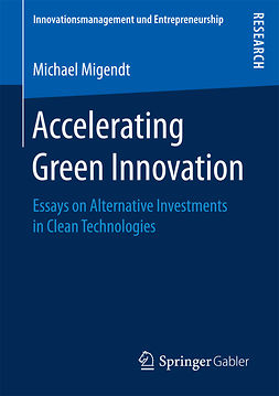 Migendt, Michael - Accelerating Green Innovation, ebook