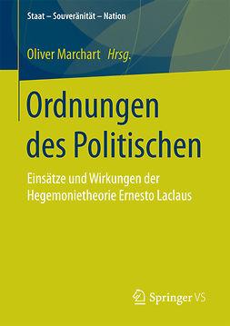 Marchart, Oliver - Ordnungen des Politischen, ebook