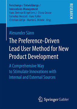 Sänn, Alexander - The Preference-Driven Lead User Method for New Product Development, e-kirja