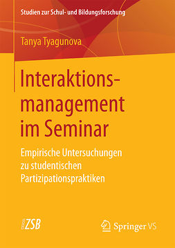 Tyagunova, Tanya - Interaktionsmanagement im Seminar, ebook