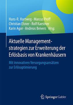 Agor, Karin - Aktuelle Managementstrategien zur Erweiterung der Erlösbasis von Krankenhäusern, ebook