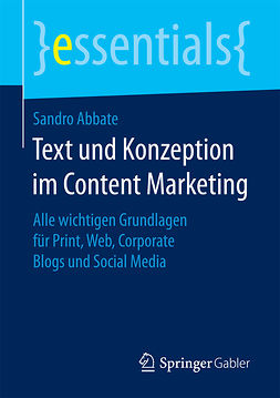 Abbate, Sandro - Text und Konzeption im Content Marketing, ebook