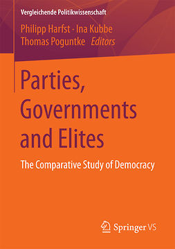 Harfst, Philipp - Parties, Governments and Elites, e-kirja