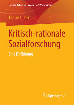 Thaler, Tilman - Kritisch-rationale Sozialforschung, ebook