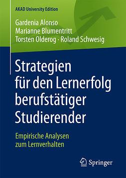 Alonso, Gardenia - Strategien für den Lernerfolg berufstätiger Studierender, ebook