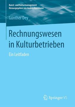 Dey, Günther - Rechnungswesen in Kulturbetrieben, ebook