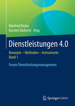 Bruhn, Manfred - Dienstleistungen 4.0, e-kirja