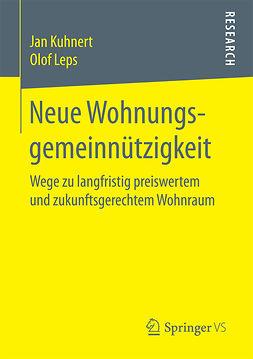 Kuhnert, Jan - Neue Wohnungsgemeinnützigkeit, ebook