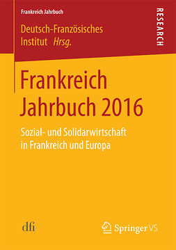 Institut, Deutsch-Französisches - Frankreich Jahrbuch 2016, ebook