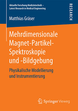 Gräser, Matthias - Mehrdimensionale Magnet-Partikel-Spektroskopie und -Bildgebung, ebook