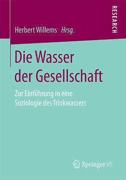 Willems, Herbert - Die Wasser der Gesellschaft, ebook