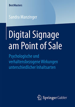 Manzinger, Sandra - Digital Signage am Point of Sale, e-bok