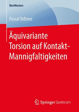 Teßmer, Pascal - Äquivariante Torsion auf Kontakt-Mannigfaltigkeiten, ebook