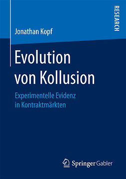 Kopf, Jonathan - Evolution von Kollusion, ebook