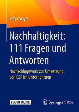 Mayer, Katja - Nachhaltigkeit: 111 Fragen und Antworten, ebook