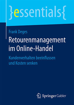 Deges, Frank - Retourenmanagement im Online-Handel, ebook