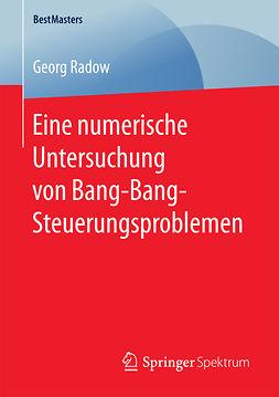 Radow, Georg - Eine numerische Untersuchung von Bang-Bang-Steuerungsproblemen, ebook