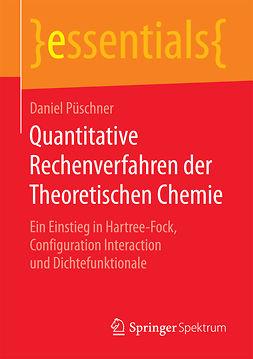 Püschner, Daniel - Quantitative Rechenverfahren der Theoretischen Chemie, ebook