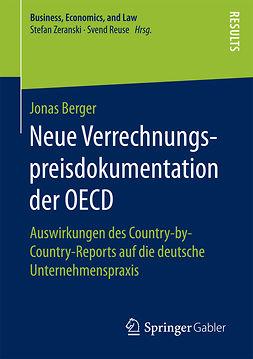 Berger, Jonas - Neue Verrechnungspreisdokumentation der OECD, e-kirja