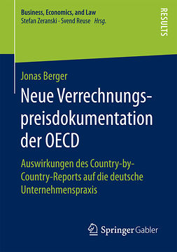 Berger, Jonas - Neue Verrechnungspreisdokumentation der OECD, ebook