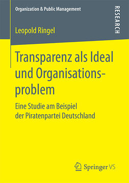 Ringel, Leopold - Transparenz als Ideal und Organisationsproblem, ebook