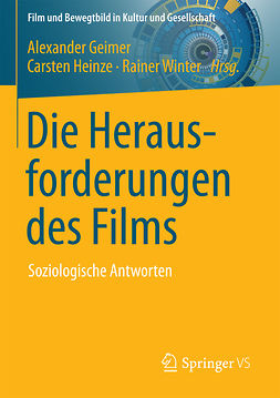 Geimer, Alexander - Die Herausforderungen des Films, ebook