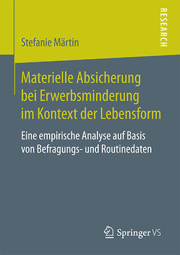 Märtin, Stefanie - Materielle Absicherung bei Erwerbsminderung im Kontext der Lebensform, ebook
