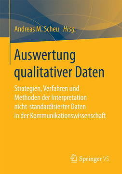 Scheu, Andreas M. - Auswertung qualitativer Daten, ebook