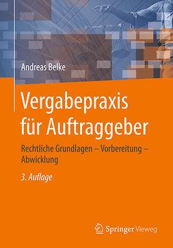 Belke, Andreas - Vergabepraxis für Auftraggeber, ebook