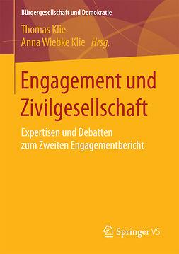 Klie, Anna Wiebke - Engagement und Zivilgesellschaft, ebook