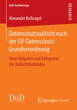 Roßnagel, Alexander - Datenschutzaufsicht nach der EU-Datenschutz-Grundverordnung, ebook