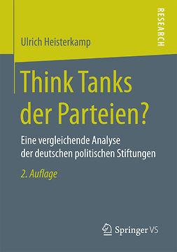 Heisterkamp, Ulrich - Think Tanks der Parteien?, ebook
