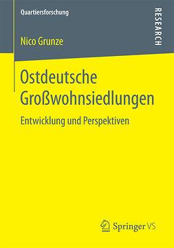 Grunze, Nico - Ostdeutsche Großwohnsiedlungen, ebook
