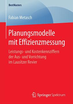 Metasch, Fabian - Planungsmodelle mit Effizienzmessung, ebook