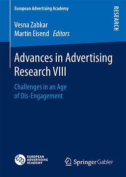 Eisend, Martin - Advances in Advertising Research VIII, ebook