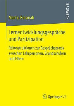 Bonanati, Marina - Lernentwicklungsgespräche und Partizipation, ebook