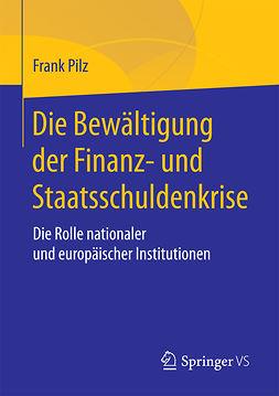 Pilz, Frank - Die Bewältigung der Finanz- und Staatsschuldenkrise, e-kirja
