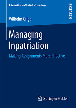Griga, Wilhelm - Managing Inpatriation, ebook