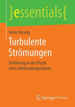 Herwig, Heinz - Turbulente Strömungen, ebook