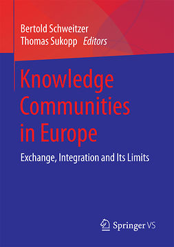Schweitzer, Bertold - Knowledge Communities in Europe, e-kirja