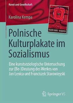 Kempa, Karolina - Polnische Kulturplakate im Sozialismus, ebook