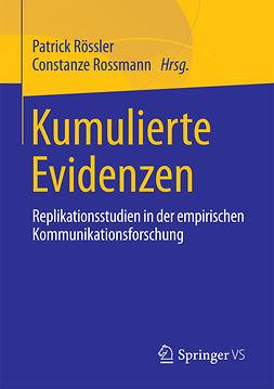 Rossmann, Constanze - Kumulierte Evidenzen, ebook